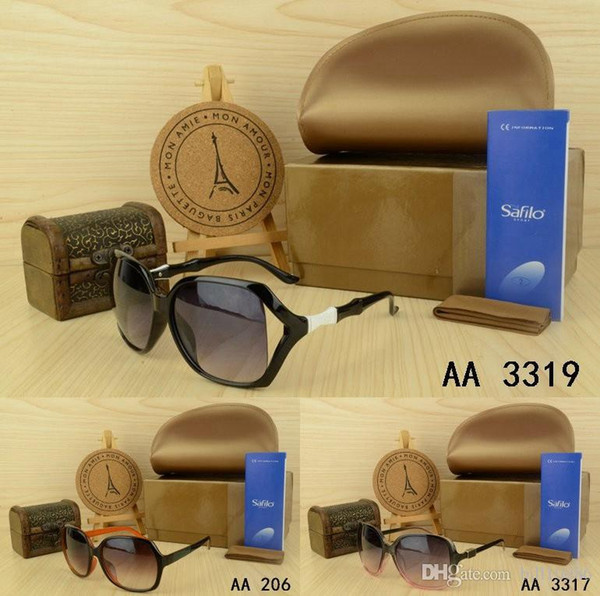Hot fashion 1pcs Classic Pilot Sunglasses Cool kaka Designer Mens Womens Sun Glasses Eyewear UV400 Steampunk Retro Vintage original with box