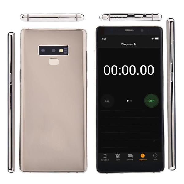 Goophone Note 9 smartphones avec Pen 6.2inch Android 8.0 dual sim montré 128G ROM 4G LTE téléphones cellulaires