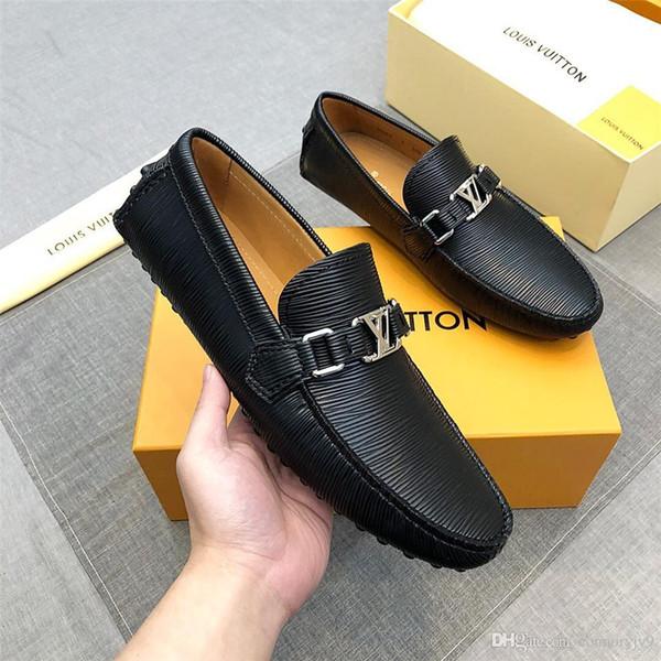 LISY7i Italy Luxury Shoe High Quality Men High Shoes European Shoes Designer Men Shoes Oxford Lace-ups Gift Black