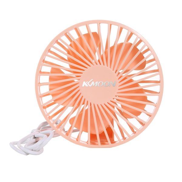 KKmoon Taşınabilir Mini USB Fan Düşük Gürültü Fanı Serin USB Açık Hava Etkinlerinde Kullanılabilecek Beş 30 ° Bıçakla Desteklenmektedir