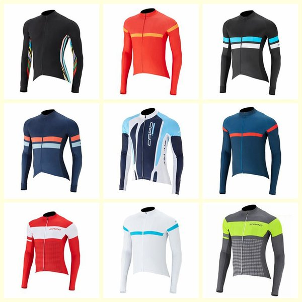 CAPO team Cycling long Sleeves jersey Rope Ciclismo Maillot Men's Outdoors MTB Bicycle NEW Riding Clothes Sportwear U71828