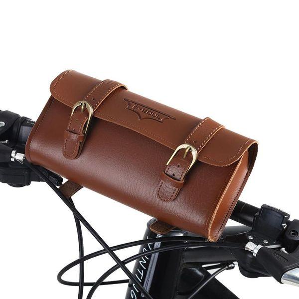 Waterproof Bike Tube Bag Bicycle Cycling Handlebar Pack Front Frame Accessories