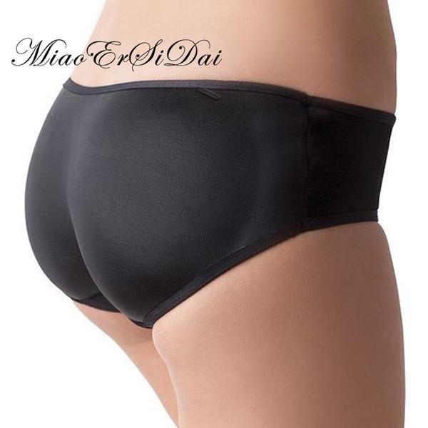 Butt lift Briefs Bottom Panties Buttocks Push Up Underwear Padded Panties Seamless Hip Pack Shapewear