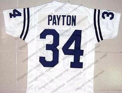 JSU #34 Walter Payton White