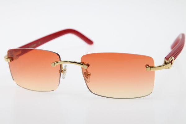 Altın Portakal Kırmızı Lens