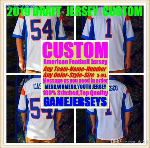 Camisetas personalizadas de fútbol americano Arizona Atlanta College Auténtico Retro Rugby Fútbol Béisbol Baloncesto Baloncesto Jersey 4xl 5xl 8xl Canadá