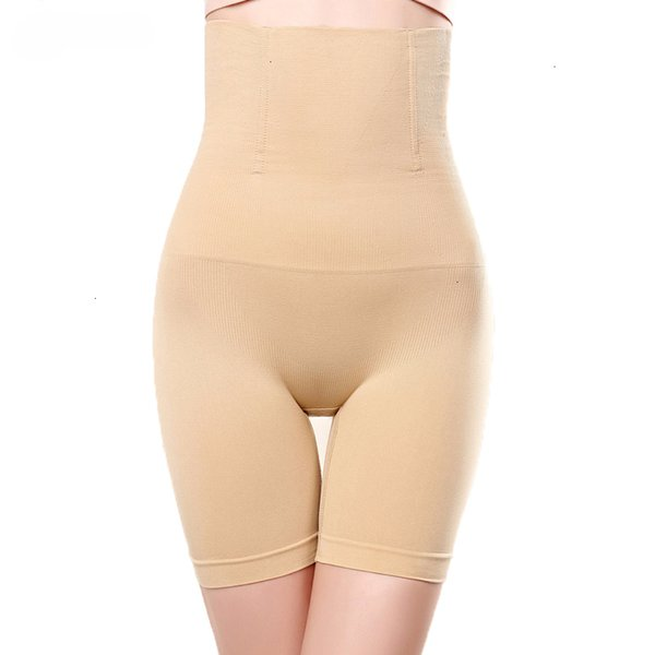 Corpo Shapers Mulheres Lady Belly Controle Seamless Boyshorts Mulheres Elevador Hip Slimming coxa e barriga poliéster Controle pós-parto Shaper