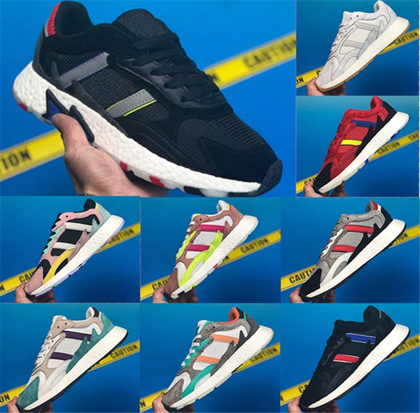 2019 Top Running Shoes tresc run Triple Black and White Blue grey Men Women Running Shoes sport Sneakers