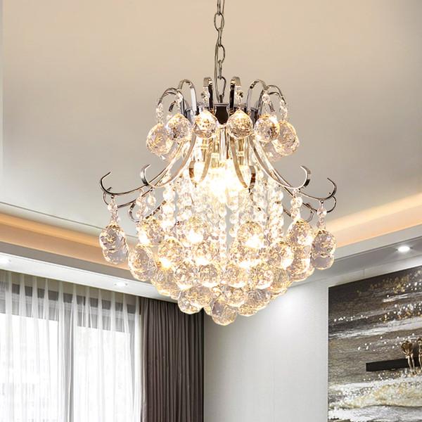 american modern chandelier rural style luxury crystal chandelier living room bedroom dining room aisle lighting fixture