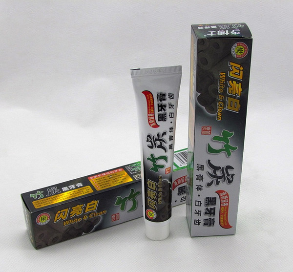 top popular High Quality Best Toothpaste Charcoal Toothpaste Black Bamboo Charcoal Toothpaste Oral Hygiene Tooth Paste DHL Free Shipping 2021