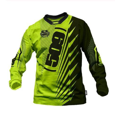 DH Bike Jersey Motocross Jersey Mountain Bike Bicycle Motocross Jersey Offroad Racing Riding BMX DH MTB T-Shirt Clothes