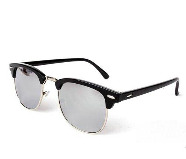 Marka Tasarımcısı Güneş Yüksek Kaliteli Metal Menteşe Güneş Gözlüğü Erkek Gözlük Kadın Güneş gözlükleri UV400 lens ...
