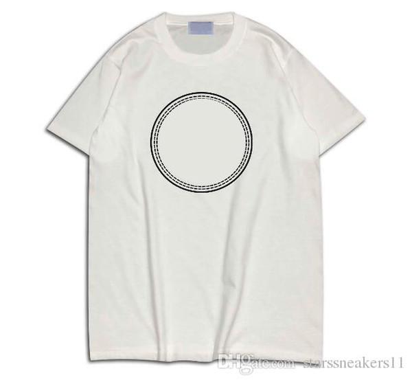 white t shirts for mens 2019 Summer Paris Fan Fashion brand designer t Letter top Tshirt Casual Tee T-shirt4