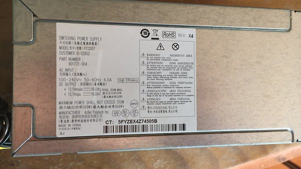 901771-004 180W for HP power supply