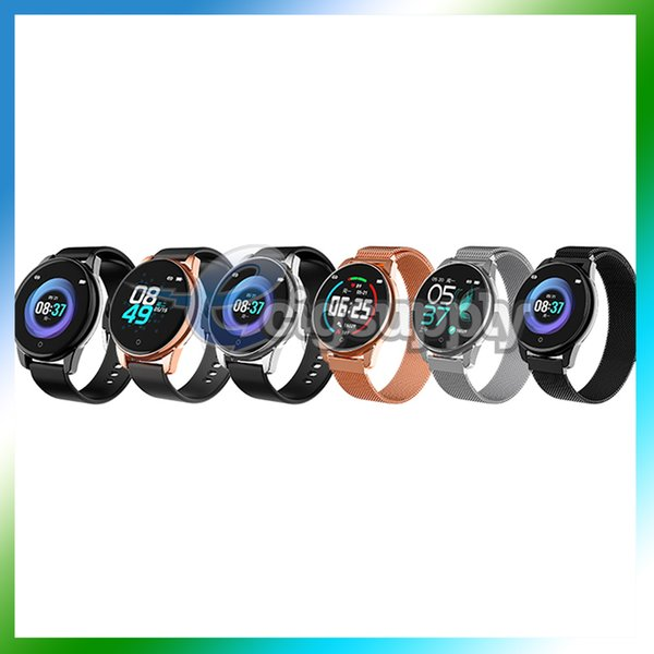 Bluetooth Smart Watch With Silicone Stainlees Steel Band Sports Tracker Waterproof Smartwatch for Apple Watch 4 Wristwatch IOS Android
