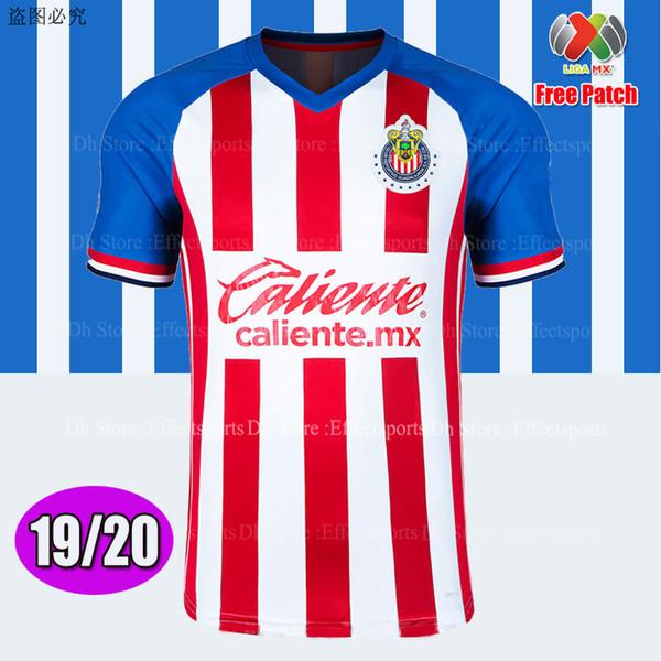 Chivas 2019/20 Home con patch MX