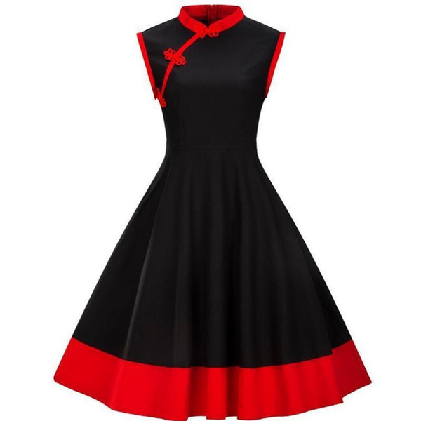 2019 Women Dress S 4xl Plus Size Women Clothing Pin Up Vestidos Summer  Retro Casual Party Robe Rockabilly 50s 60s Vintage Dresses J190511 From  Tubi04, ...