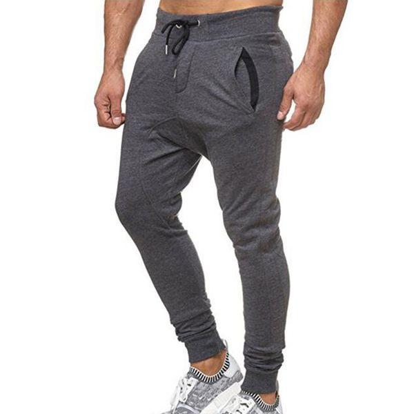 Men Pants Sport Jogging Fitness Pants Men Casual Loose Drawstring Sweatpants Full Length Trousers pantalones hombre 19APR18