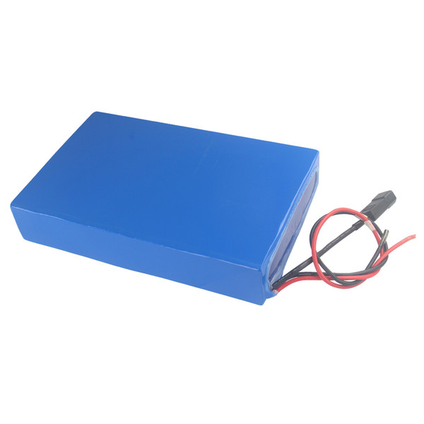 waterproof rechargeable 52v 30ah electric skateboard battery pack High-capacity for 300W to 2000W power with 3A charger Free shipping