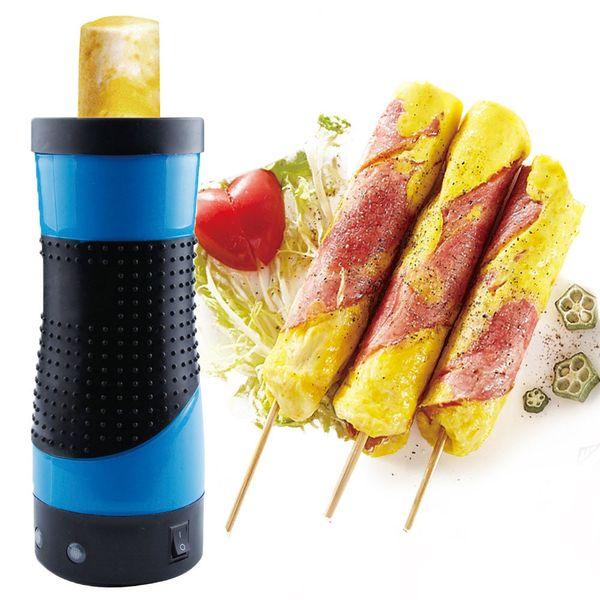 Diy-Frühstücks-Rollenschnellmacher-elektrischer Kessel-automatische Eier kochen schnelleres Ei-Omelett-Vorlagen-Wurst-Werkzeugmaschine C19041901