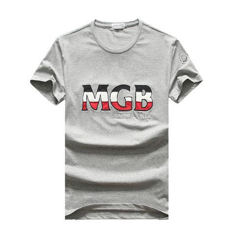 2019 Summer M Brand Short Sleeve Men's T-Shirts 8016 O-neck Fashion design casual France style cotton Man Clothing tshirt Round collar tees