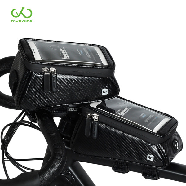 Bicycle Bags Front Frame High-quality MTB Bike Bag Waterproof Screen Touch Top Tube Phone Bag Cycling Accessories