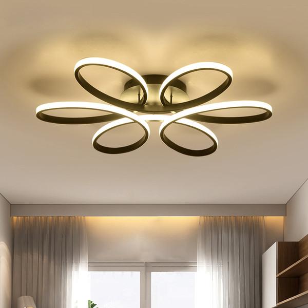 Moderne led kronleuchter für wohnzimmer schlafzimmer esszimmer aluminium körper indoor hause kronleuchter lampe leuchte ac90v-260v