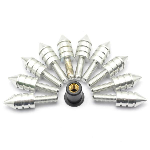 POUR 10 PCS moto CNC universelle CNC en aluminium moscrew Pare-brise pour MV Agusta Bolt Brutale 1078RR Agusta Brutale 1078RR 1078