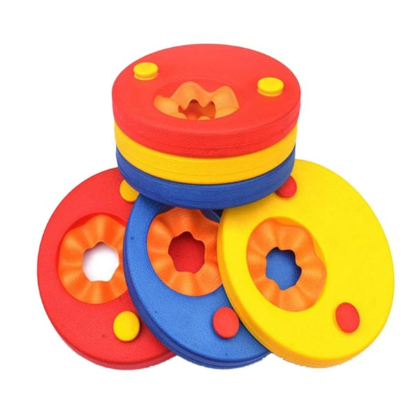 Swim Discs Foam Baby Swimming Exercises Circles Rings Swim Discs Arm Bands Floating Sleeves Floating Board Swimming Circles Ring