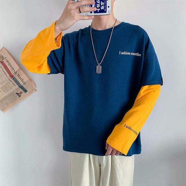 Bleu Sweat-shirt Homme