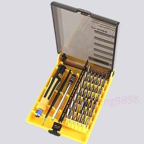 45 in 1 Präzision Torx Schraubendreher Handy Repair Tool Set Pinzette Mobile Kit Kostenloser versand