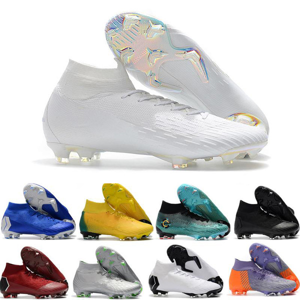 outlet store 005b9 bd6fa Mercurial Superfly CR7 V FG Boys Football Boots Magista Obra 2 Women Youth  Soccer Cleats Cristiano Ronaldo Soccer Shoes Womens Trail Running Shoes ...