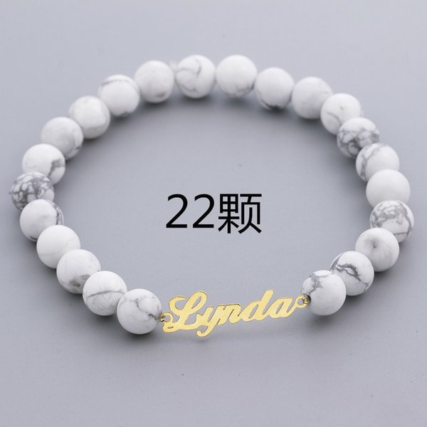 22 Beads-Gold Color