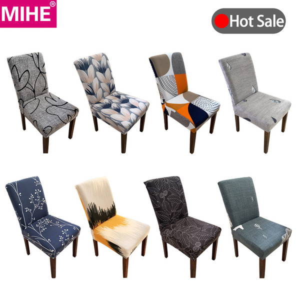 Modern Chair Covers Spandex Stretch Elastic Office Hotel Wedding Banquet  Chair Cover Kitchen Seat Cover Dining Room YZT22 Sofa Slip Cover Dining  Chair ...