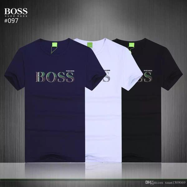 Herren-Kurzarm-T-Shirt aus Baumwolle für Männer mit rundem Kragen und modischem, halbärmeligem Unterteil