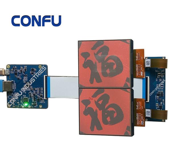 CONFU Hdmi a Mipi Driver Board con AUO 3.8 pulgadas dual oled para realidad virtual de auriculares VR AR