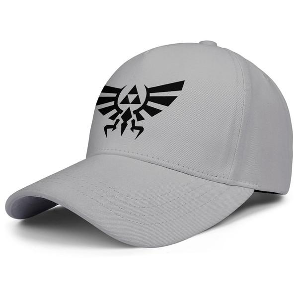 The Legend of Zelda Logo Guantes Gris
