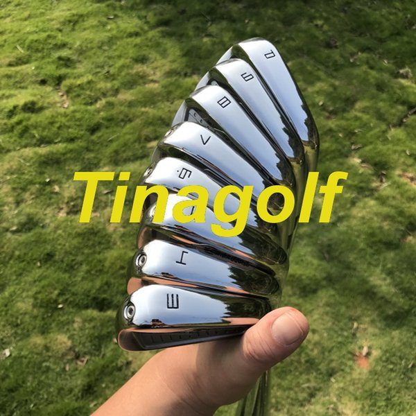 2019 new golf iron p7 iron et 3 4 5 6 7 8 9 pw with dynamic gold 300 teel haft 8pc golf club