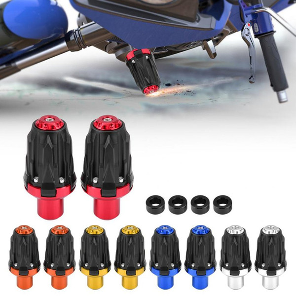 Motocicleta Sports Car Straddle Modificado Anti-Drop Bar 10Mm Anti-Drop Rubber Bumper Shatter Bar