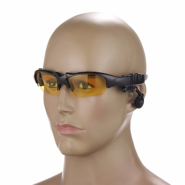 Smart Brille Bluetooth Sunglass Kopfhörer Sport MP3-Player drahtlose Bluetooth-Headset Ohrbügel Freisprecheinrichtung mit Verpackung