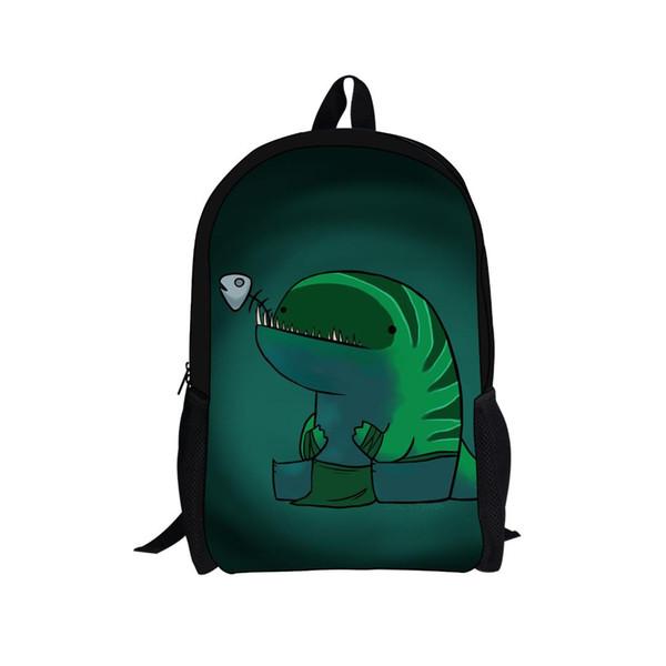 THIKIN Dota2 Games Design Printing Sac à dos personnalisé pour les adolescents Bookbag Mode personnalisé cartable Université Cool