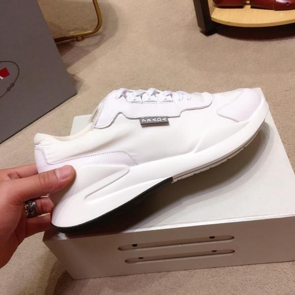 2019k edição limitada de calçados casuais dos homens personalizados, moda calçados esportivos, entrega de caixa de sapato embalagem original, metragem: 38-45