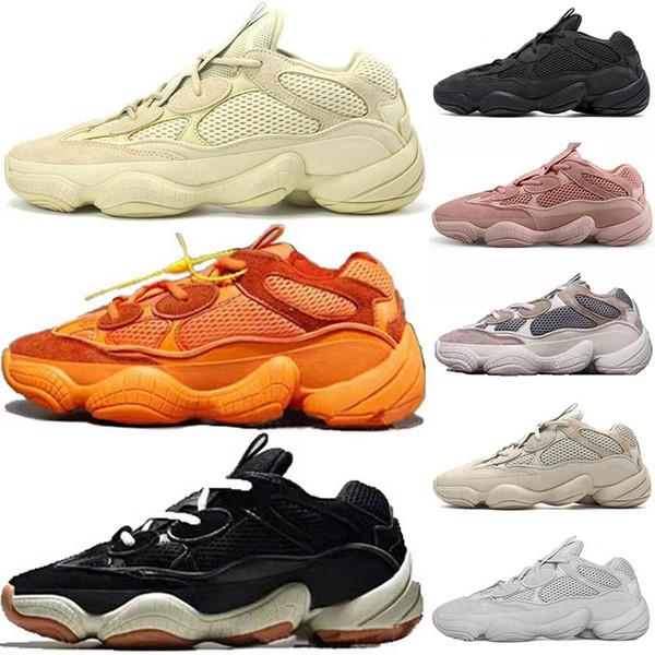 Super Moon Jaune 500 Utilitaire Noir Fard À Joues Kanye West Wave Runner 3 M Static Refletive Femmes Formateur Designer Chaussures De Sport Hommes Sneakers 36-45