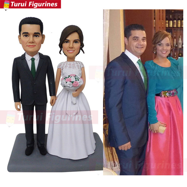 wedding Toys Anime Personalized Custom Anything Polymer Clay Figurine doll baby handmade wedding cake topper cake decor