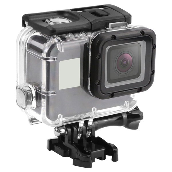 no remove len 45m camera waterproof protective ca e for gopro hero5 6 7 acrylic clear hight quality cover