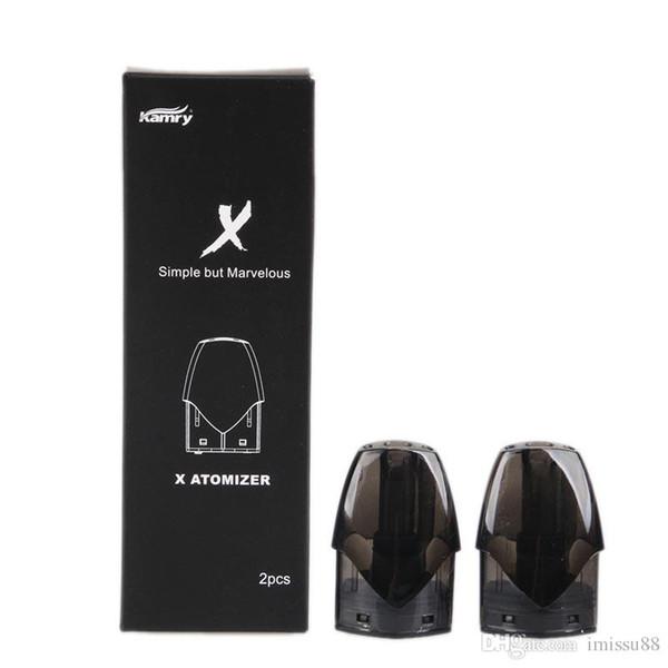 100% Original Kamry X Cartridge Disposable Pod Vape Pen Vaporizer for Thick Oil 2ml 1.4ohm Cartridges Free Shipping DHL