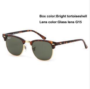 Libero ShippinghClassic raggi + Occhiali da sole polarizzati uomini / donne pilota Occhiali da sole UV400 Eyewear Occhiali da pilota driver Bans metallo fotogramma 30 + 25 Su 5