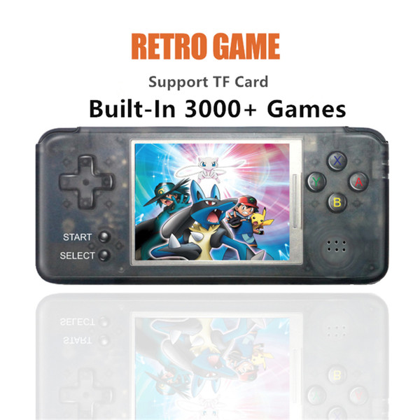 RETRO GAME Mini Handheld Game Player 16GB 3.0 inch LCD Portable Game Console For CP1 CP2 NEO GEO GBA FC SFC MD Format Games support TF Card