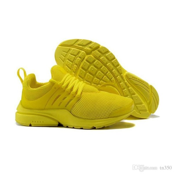 NEW Hot Ultra Light presto mens for sports shoes triple white black yellow pink blue womens trainers poplar sports shoes off size EU 36-45