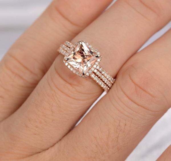 bague diamant carre